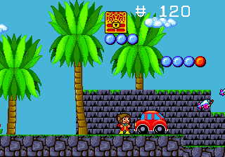 Alex Kidd in the Enchante…