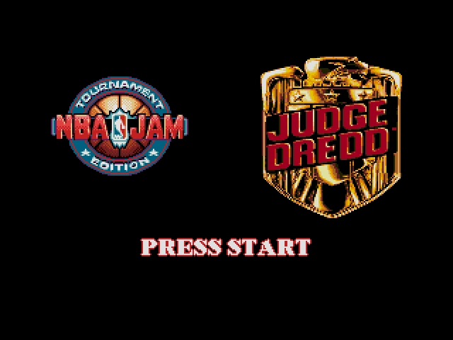 Blockbuster Competition 2 - NBA Jam and Judge Dredd
