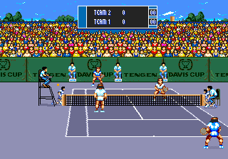 Davis World Cup Tennis