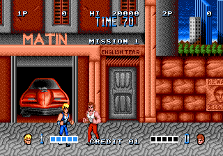 Double Dragon V: The Shad…