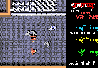 Gauntlet Arcade Version