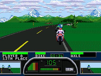 road rash 2 mega drive