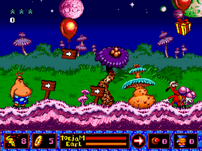 ToeJam & Earl in Panic on…