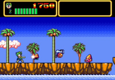 Wonder Boy III: Mons…